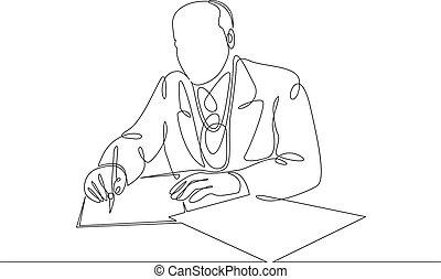 마차로 나르다, audience., 말하기, 단일, 서명하는 것, 하나, 교섭, 연속적이다, 앞서서, 성격, contract., 정치에 참여하는, 선, 그어진, 동의, 협정, 계약, 정치, 사업