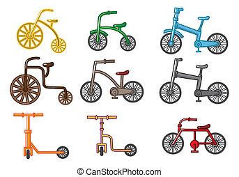 만화, 자전거
