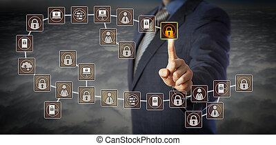 매니저, 선정, 가장, 충적세, 블록, 에서, blockchain