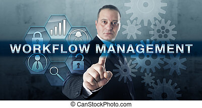 매니저, 압착하기, 작업 흐름, 관리