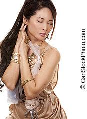 매력, 여자, 아시아 사람
