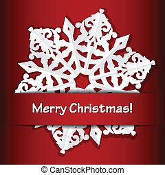 메리 크리스마스, 빨강 배경