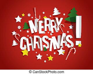 메리 크리스마스, 카드