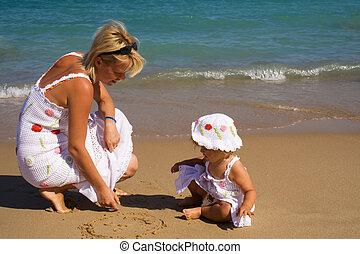 모래, 그림