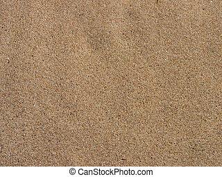 모래, 배경