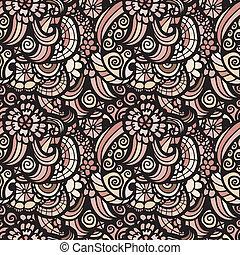 모자이크, 벡터, seamless, 패턴