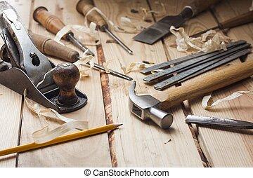 목수, 도구