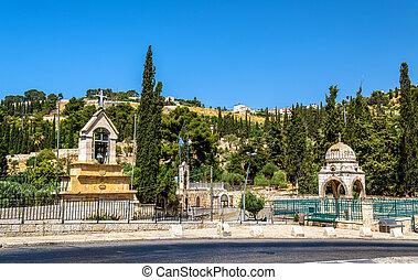 무덤, 의, 동정녀 마리아, 에서, 예루살렘
