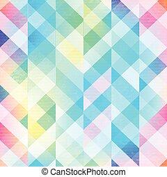 무지개, 모자이크, seamless, 패턴