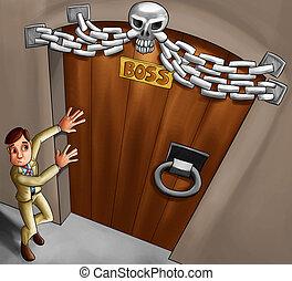 문, 두목
