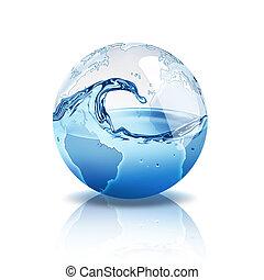 물, 세계