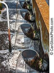 물, 청소, 시설