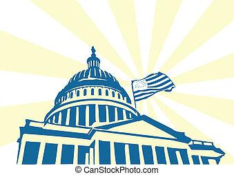 미국, 국회 의사당