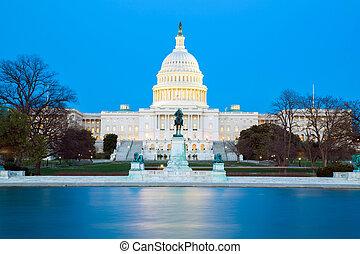 미국 미 국회의사당, 건물