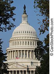 미국 미 국회의사당, 에서, 워싱톤
