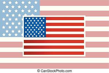 미국 영어, 벡터, 기