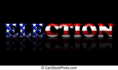 미국 영어, 선거