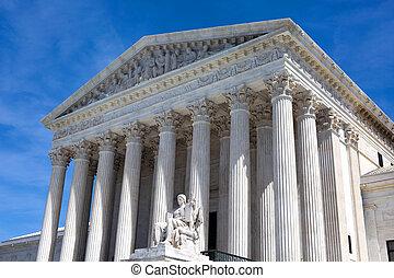 미국 최고 재판소, 건물
