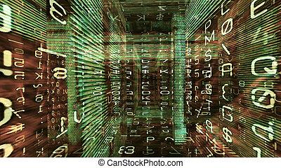 미래다, 디지털, 빛, 기술, 10785
