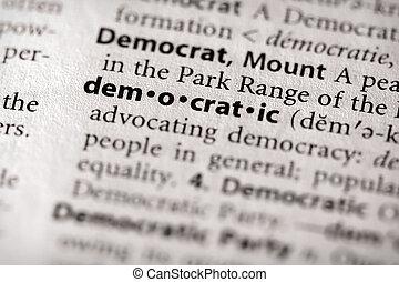 민주 정체의