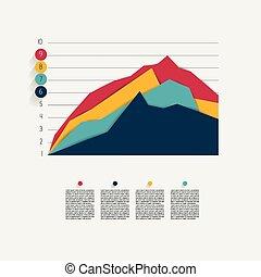 바람 빠진 타이어, 도표, graph.