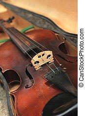 바이올린, 상세한 묘사, 스타일, 포도 수확