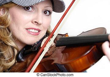 바이올린 연주자, 남자가 멋을 낸
