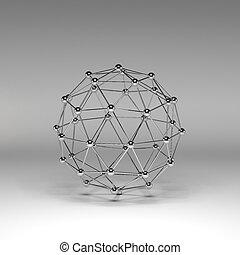 반사한다, 분자의 구조