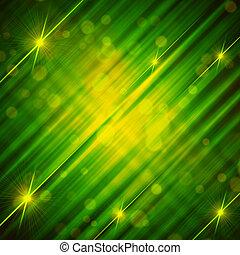 배경, 떼어내다, 은 일렬로 세운다, 황록색, 은 주연시킨다, 빛나는