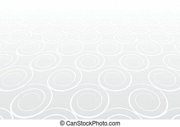 배경., 선, pattern., 백색, 나선