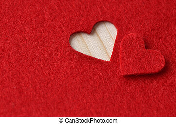 배경, 에서, 빨강, 치고는, 발렌타인 데이