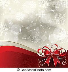 배경, -, 크리스마스, 삽화