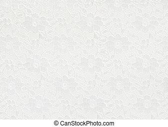 백색, 레이스, 배경