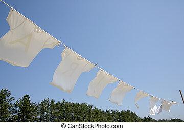 백색t-셔츠