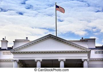 백악관, 펜실베니아, ave, 워싱톤 피해 통제