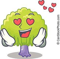 버드나무, 성격, 사랑, 녹색 나무