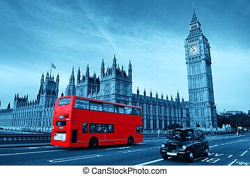 버스, 에서, 런던