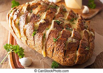 버터, 치즈, 약초, 곤드레만드레 취한, 파티, 그을게 하게 되었던 빵