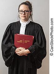 범인, 변호사