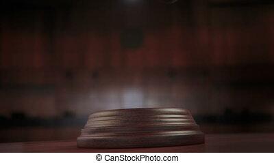 법정, 작은 망치, 스트라이크, 고리, 알파