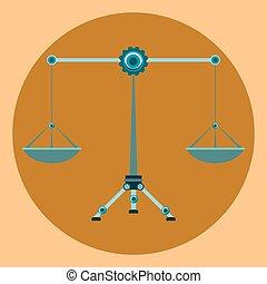 법, 균형, 상징, 정의, 저울, 12 궁도는 서명한다, 천칭자리