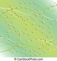 벡터, 배경, 은 주연시킨다, 삽화
