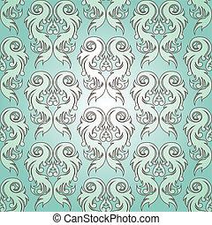 벡터, illustration., (seamless, pattern)