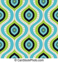 벡터, seamless, 패턴