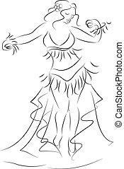 벨리 댄서