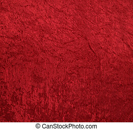 벨벳, 빨강 배경