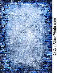 벽돌 벽, 더러운, 구조