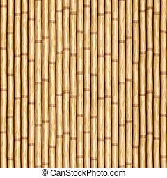 벽, 대나무