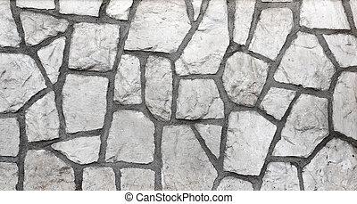 벽, 돌의 옷감