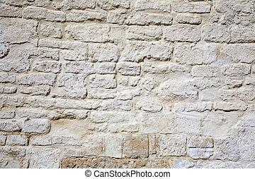벽, 집, 돌, 늙은
